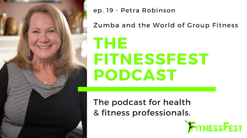 Zumba and the World of Group Fitness feat. Petra Robinson