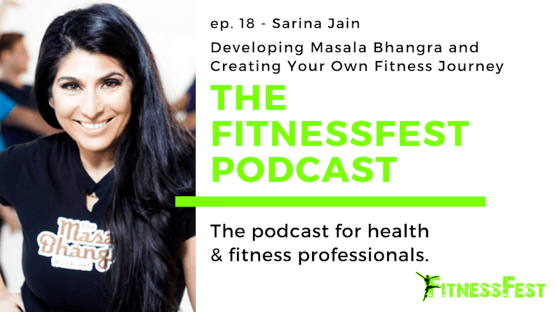 Developing Masala Bhangra and Creating Your Own Fitness Journey feat. Sarina Jain