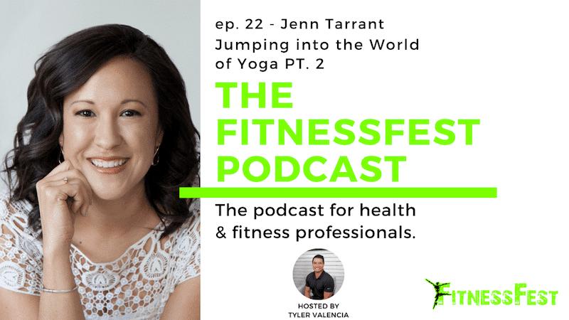 Jumping into the World of Yoga PT. 2 feat. Jenn Tarrant