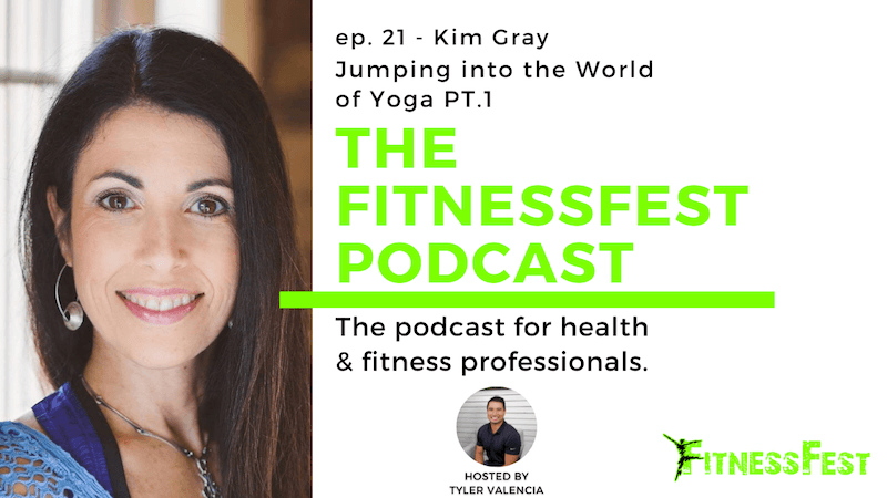 Jumping into the World of Yoga Pt. 1 feat. Kim Gray