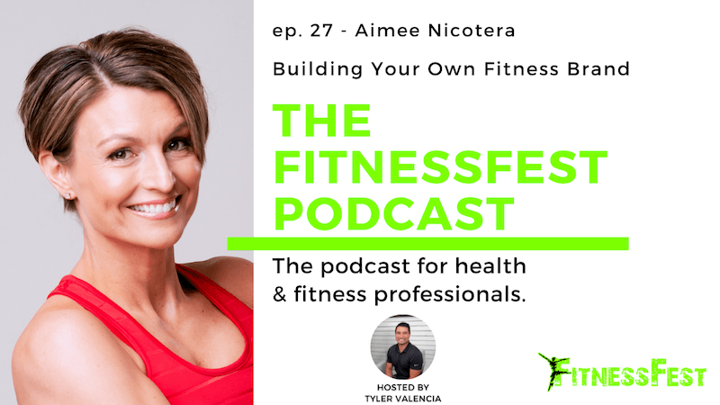 Building Your Own Fitness Brand feat. Aimee Nicotera